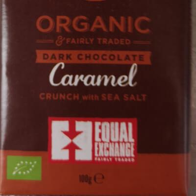 Organic Dark Caramel And Sea Salt Chocolate