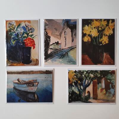 5 Greeting Cards Set1