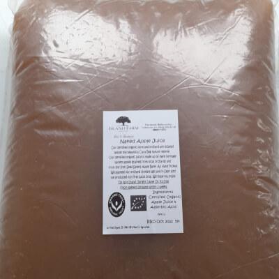 Certified Organic Apple Juice 5Lt Bag