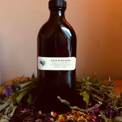 Calm & Relaxed Herbal Blend