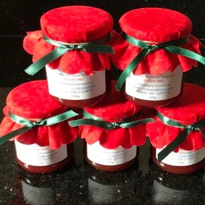Strawberry Conserve - Sugar Free