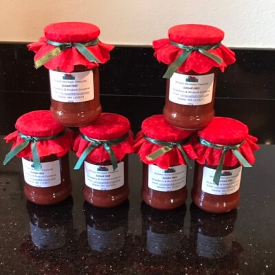 New - Strawberry And Rhubarb Conserve - Sugar Free