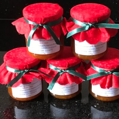 Apricot Conserve With Apricot Brandy  - Sugar Free