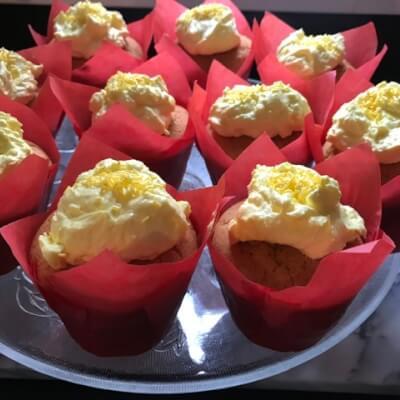 Lemon And Poppyseed Muffin
