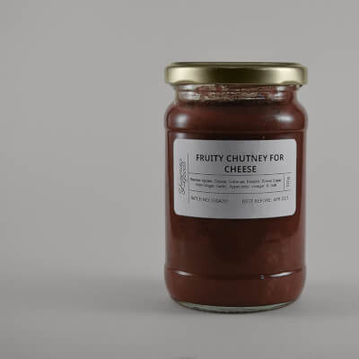 Fruity Chutney For Cheese