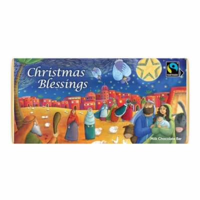 Meaningful Chocolate Company Christmas Blessings Bar
