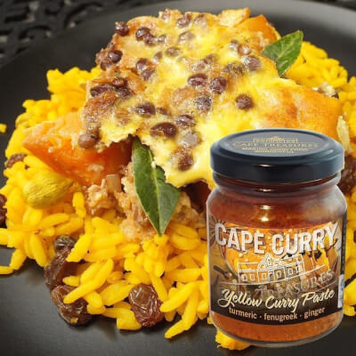 Cape Treasurers Yellow Curry Paste