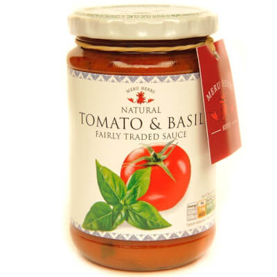 Meru Herbs - Tomato And Basil Sauce