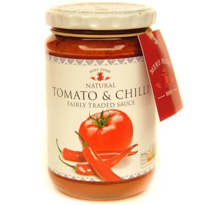 Meru Herbs - Tomato And Chilli Sauce