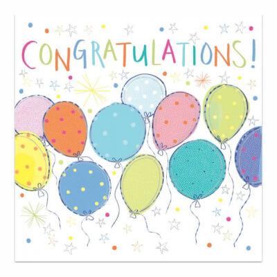 Greetings Card - Congratulations