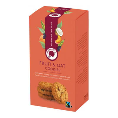 Traidcraft Chewy Fruit & Oat Cookies