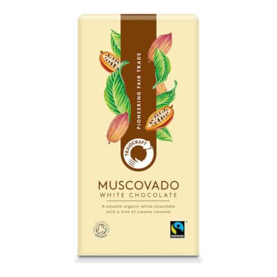 Traidcraft Organic Muscovado White Chocolate