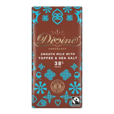 Divine Smooth Milk With Toffee & Seasalt