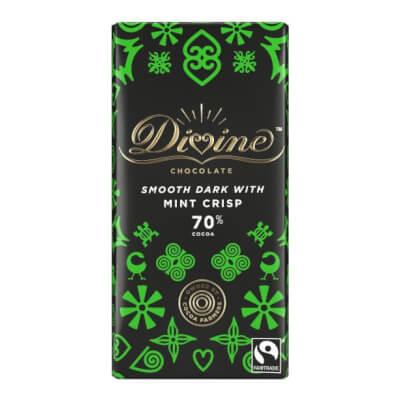 Divine Smooth Dark With Mint Crisp