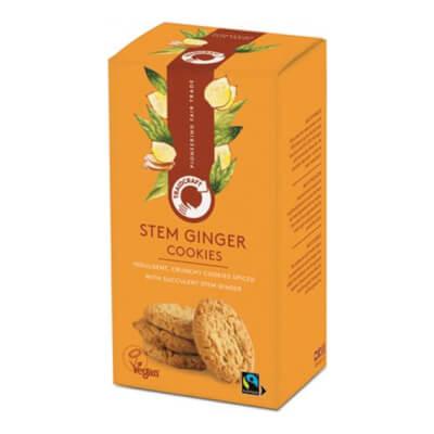 Traidcraft Stem Ginger Cookies