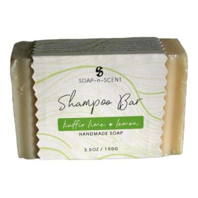 Soap N Scent Lime And Lemon Shampoo Bar
