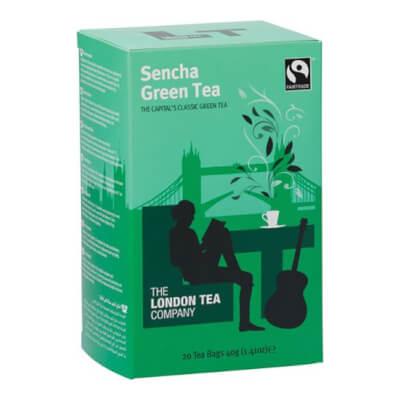 London Tea Company Sencha Green Tea (20 Bags)
