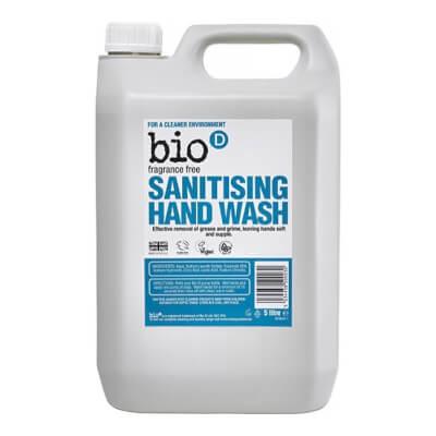 Bio D Fragrance Free Sanitising Hand Wash
