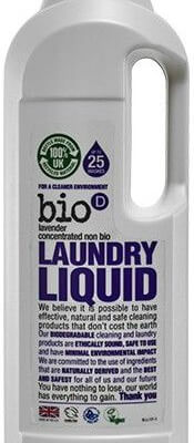 Bio D Concentrated Non Bio Laundry Liquid - Lavender