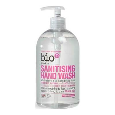 Bio-D Sanitising Hand Wash - Geranium