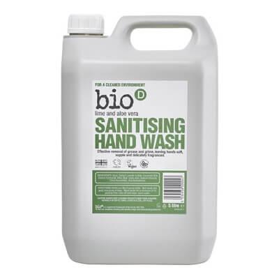 Bio D Lime & Aloe Vera Sanitising Hand Wash