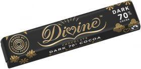 Divine Chocolate, Dark 70% 35G