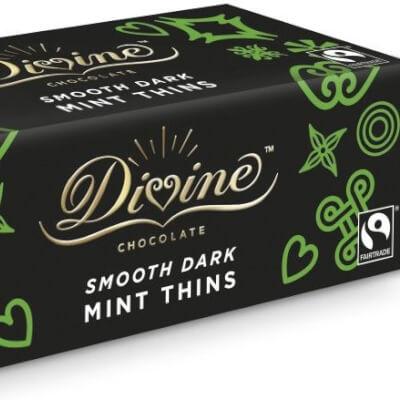 Divine Dark Chocolate Mint Thins