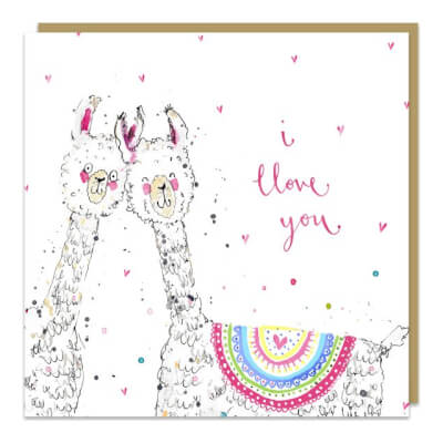Louise Mulgrew Greeting Card - I Love You