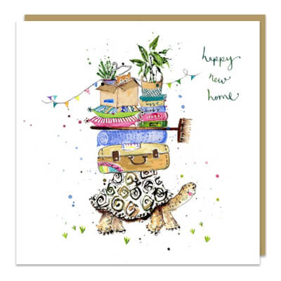 Louise Mulgrew Greeting Card - Happy New Home