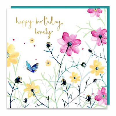 Louise Mulgrew Greeting Card - Happy Birthday Lovely