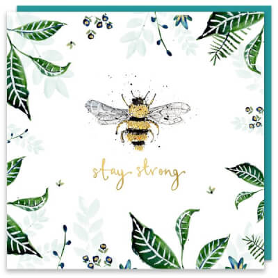 Louise Mulgrew Greeting Card - Stay Strong