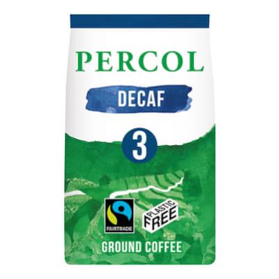 Percol Decaf Medium Roast Ground Coffee