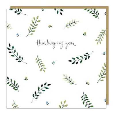 Louise Mulgrew Greeting Card - Thinking Of You