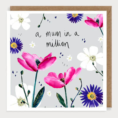 Louise Mulgrew Greeting Card - A Mum In A Million