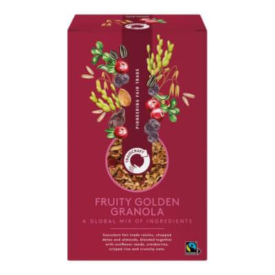 Traidcraft Fruity Golden Granola