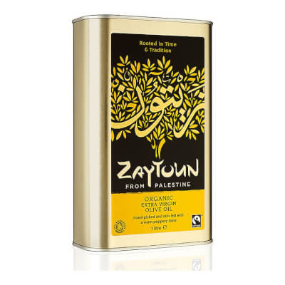 Zaytoun Organic Extra Virgin Olive Oil (1 Litre)