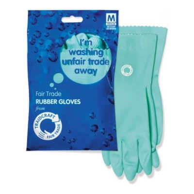 Traidcraft Rubber Gloves