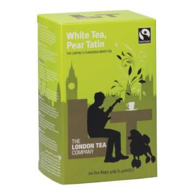 London Tea Company White Tea & Pear Tatin (20 Bags)