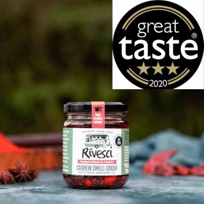 Cashew Chilli Crush - 3* Great Taste Award Winner