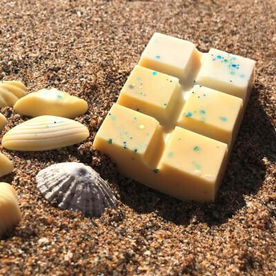Paradise Sands   Soy Wax Melt Snap Bar