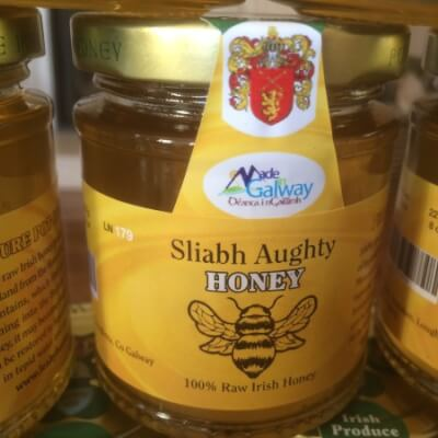 100% Raw Irish Honey
