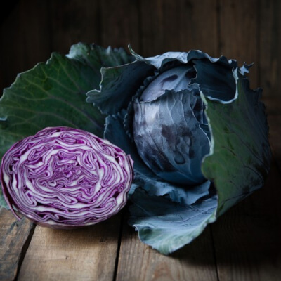 Red Cabbage  Grown In Galway