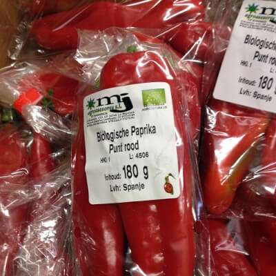 Ramiro Red Peppers (Holland)