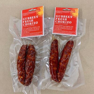 Gubbeen - Cooking Chorizo