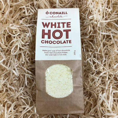 Ó Conaill Chocolate - White Hot Chocolate Flakes