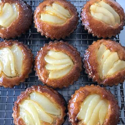 Pear Bakewell Tarts (2)