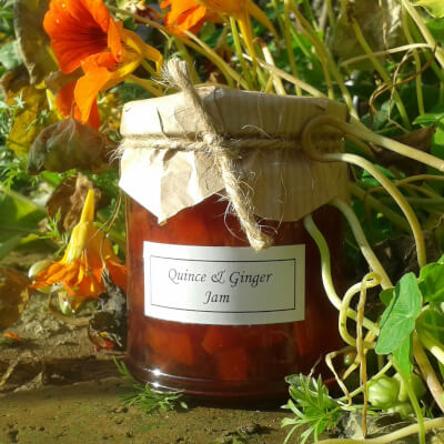 Quince & Ginger Jam