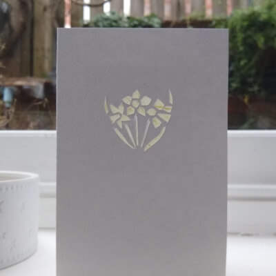 Greetings Card (Daffodil)