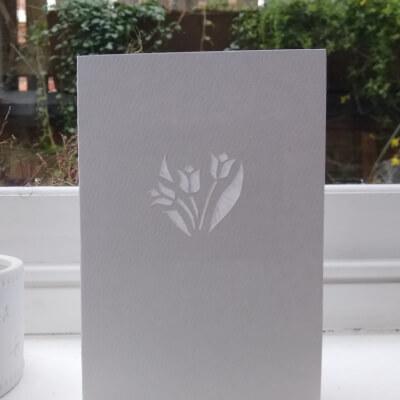 Greetings Card (Tulip)