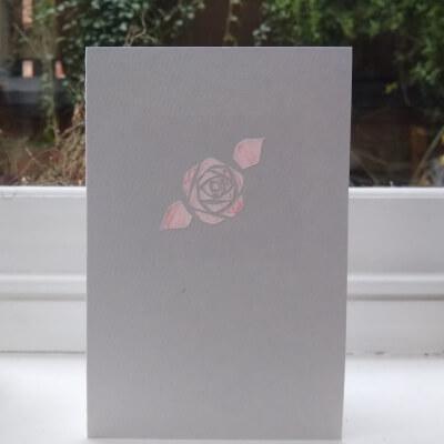 Greetings Card (Rose)